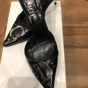 Dior Rocker sling-backs with petit heel. CD